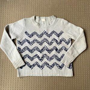 Gorman gray wool knit sweater jumper size 12